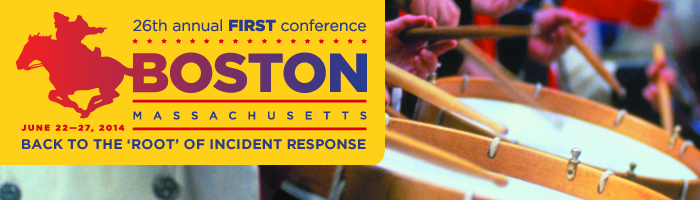 2014 FIRST Annual Conference in Boston - Register now